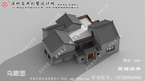慈溪市自建别墅设计图