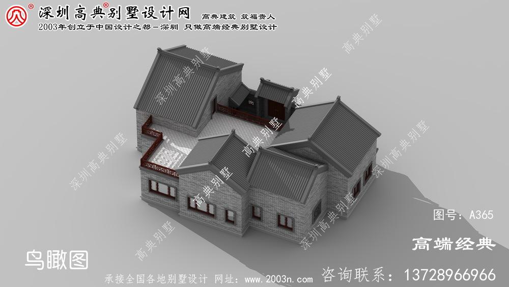 慈溪市自建别墅设计图纸