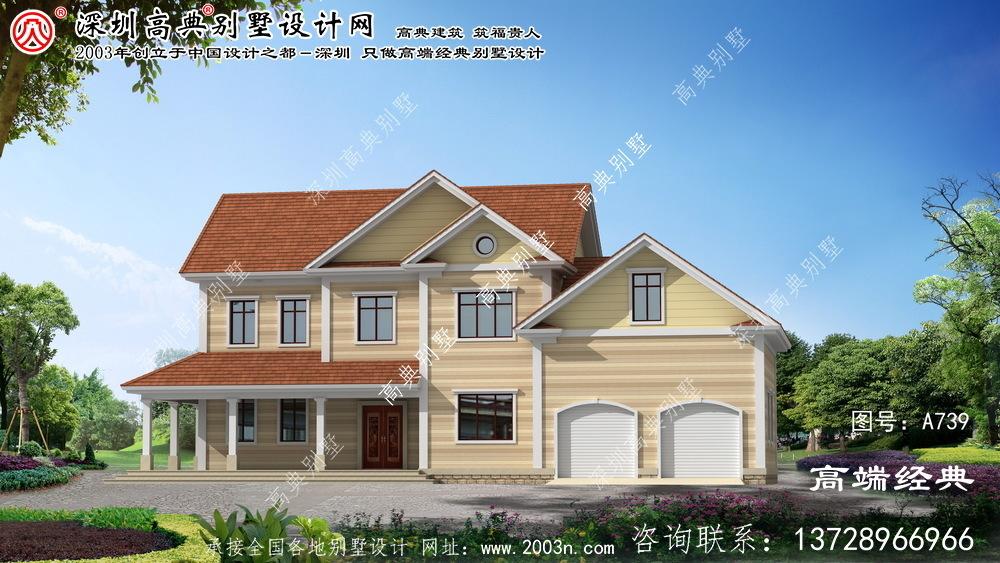 奉化二层别墅设计图纸平面图