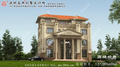 寻乌县深圳别墅设计图