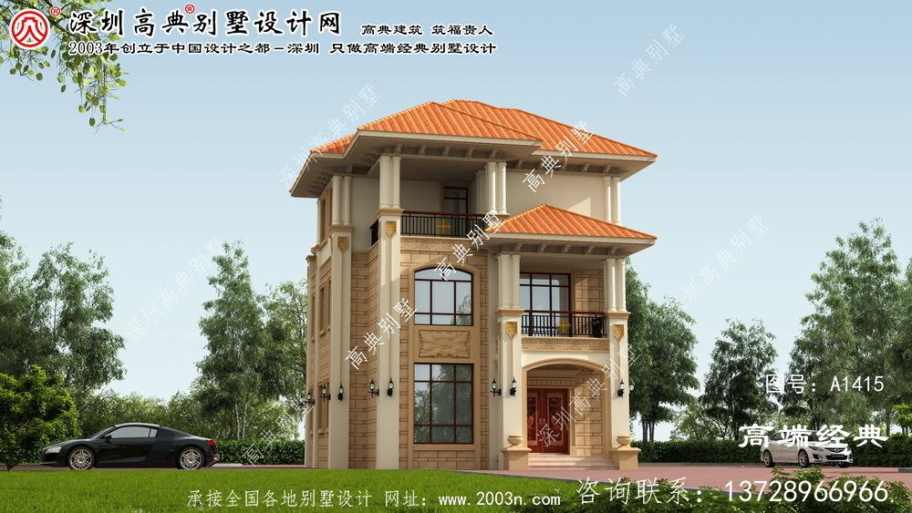 尚义县小户型别墅设计图纸