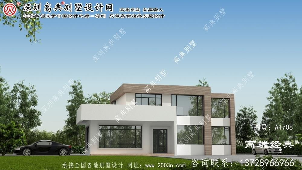 朔城区现代风格别墅设计图纸大空间