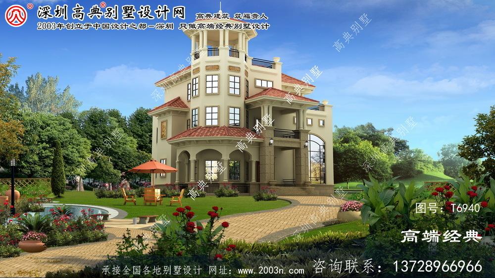 东胜区别墅房屋平面设计图