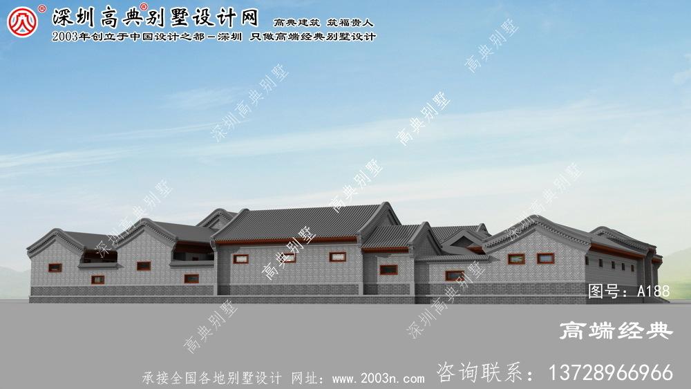 靖宇县大别墅设计图
