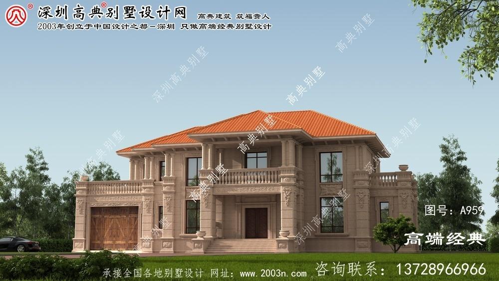 青山区267平别墅设计图纸