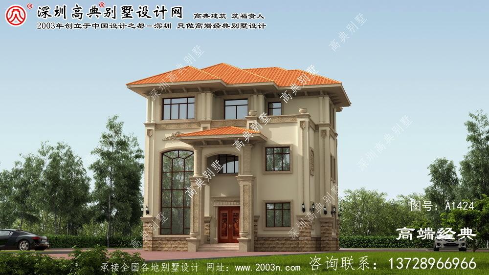阳江市三层联排别墅装修
