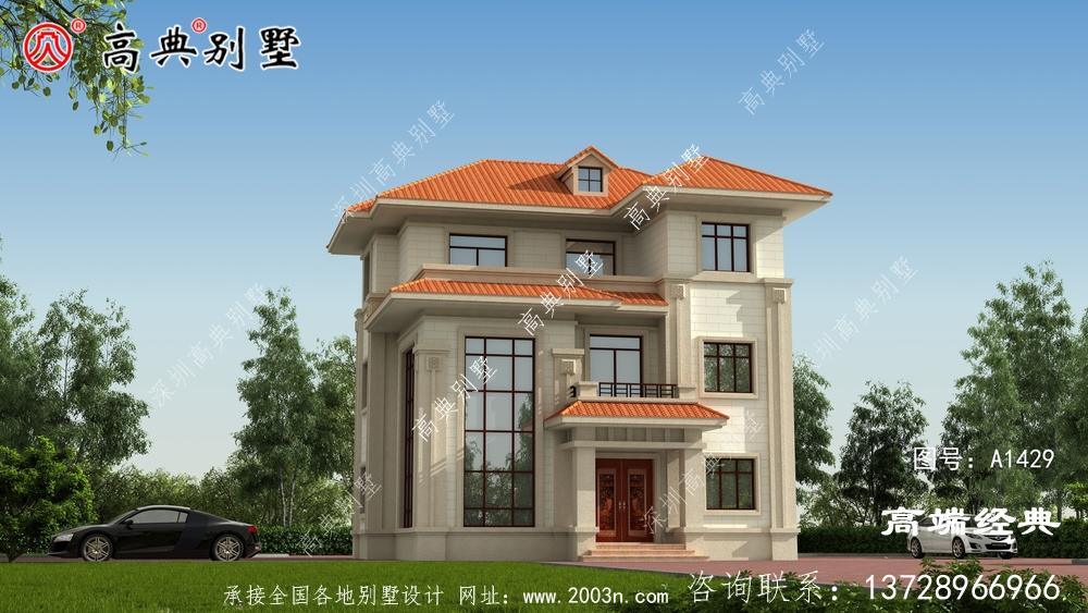 堆龙德庆县乡村别墅建设图