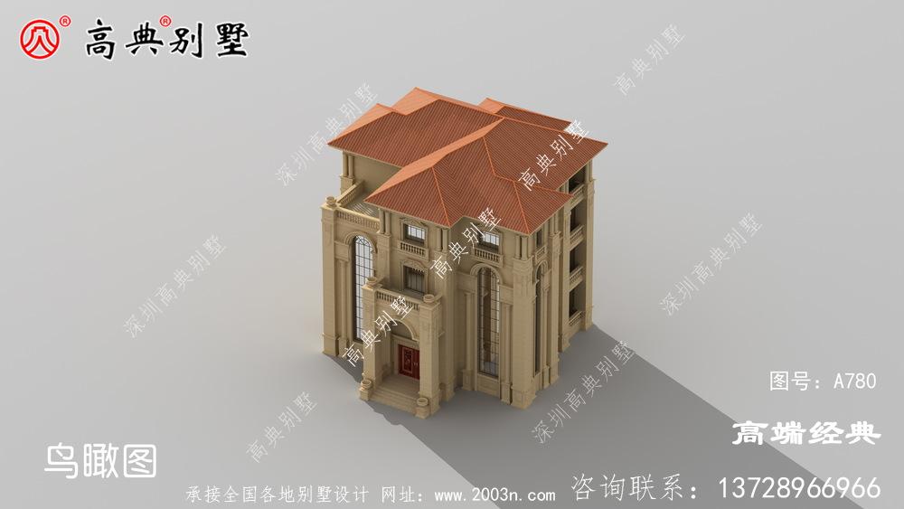 6层法式别墅设计图