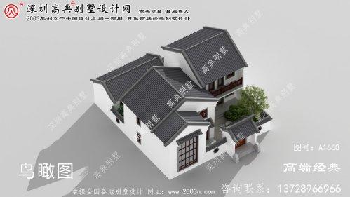 临澧县中式别墅,有庭