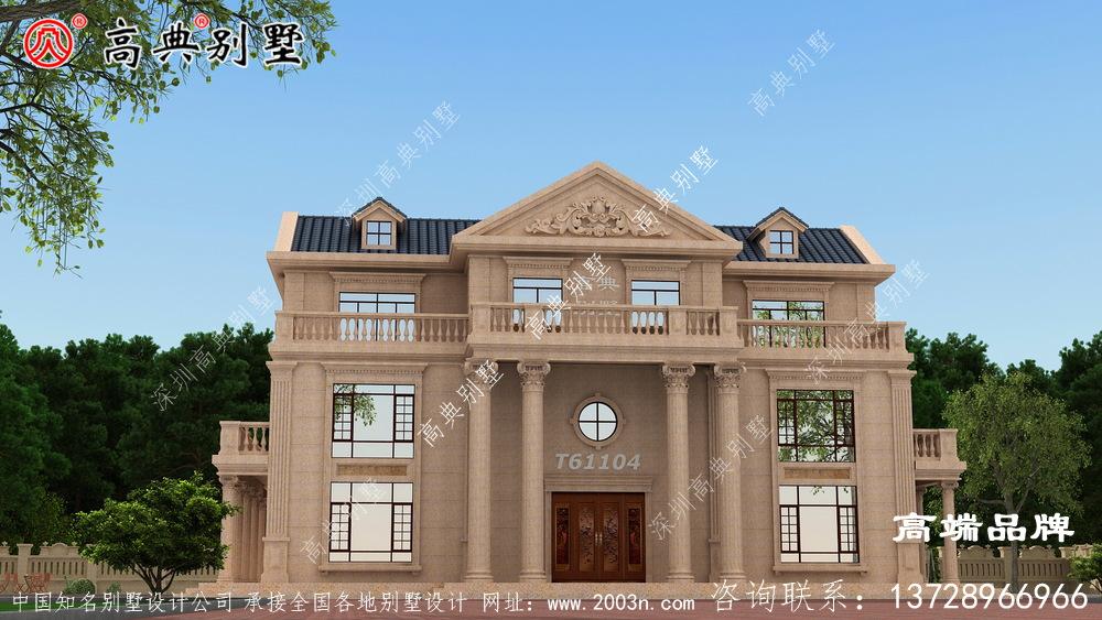 别墅豪宅设计图经典的户型风格而广受欢迎
