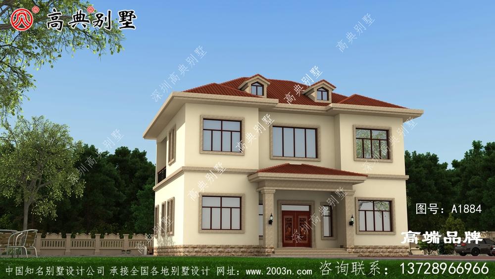 两层自建房设计图符合农村住宅建设政策