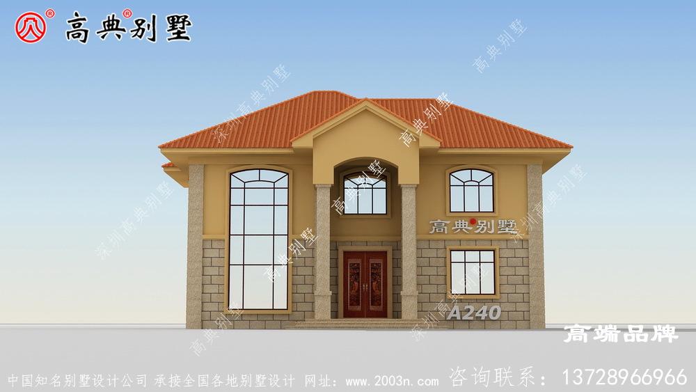 农村房屋的设计更能凸显别墅的美感