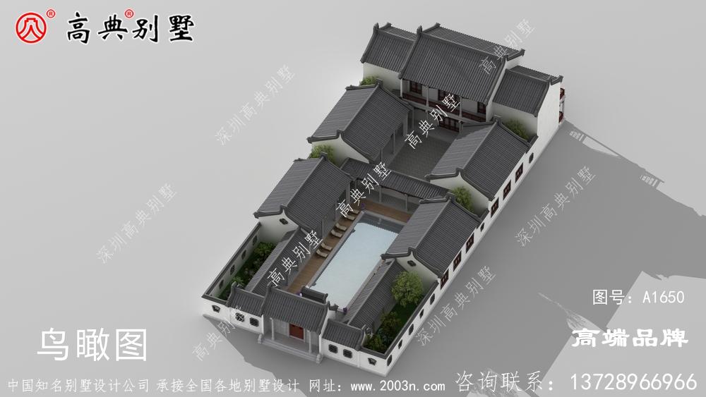 简易别墅外观建一栋在村里绝对拉风