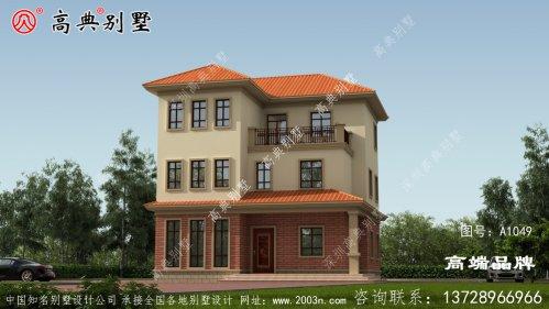 农村前后房屋设计图尤