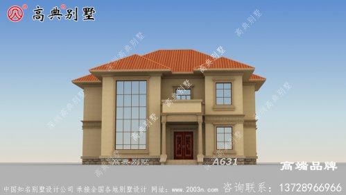 193平自建房设计图时尚