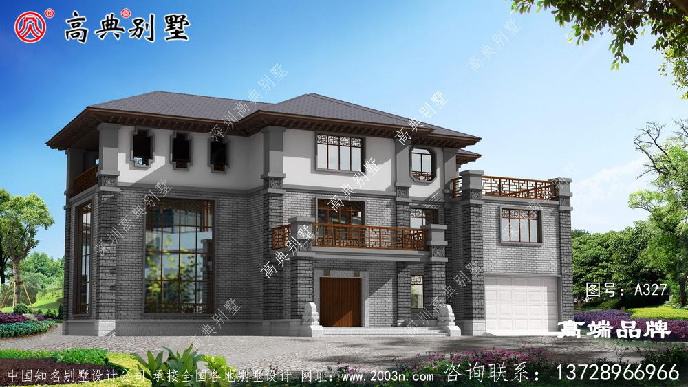 农村405平米房屋设计图聪明人看完都收藏了!