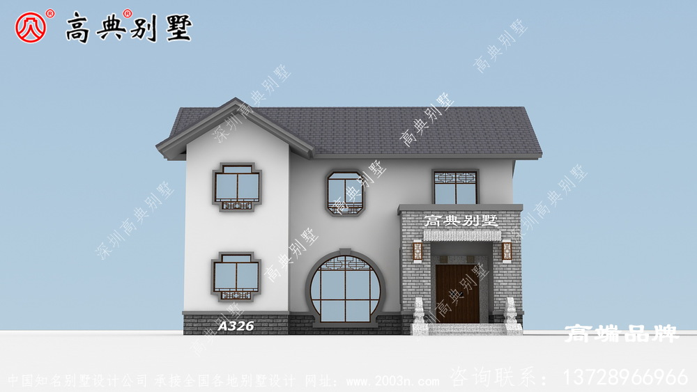 农村房屋设计大气不失优雅