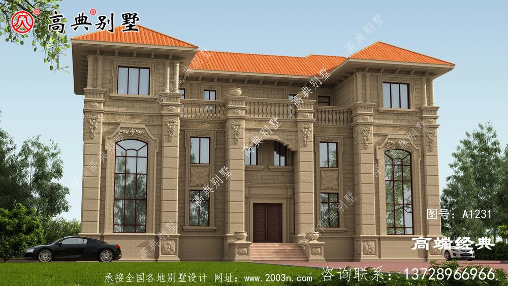 梅州市三层农村自建房,经典实用,忍不住推荐