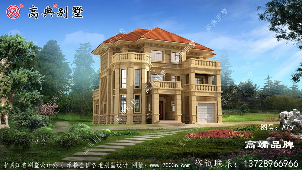 农村小楼房设计简欧式风格设计外观