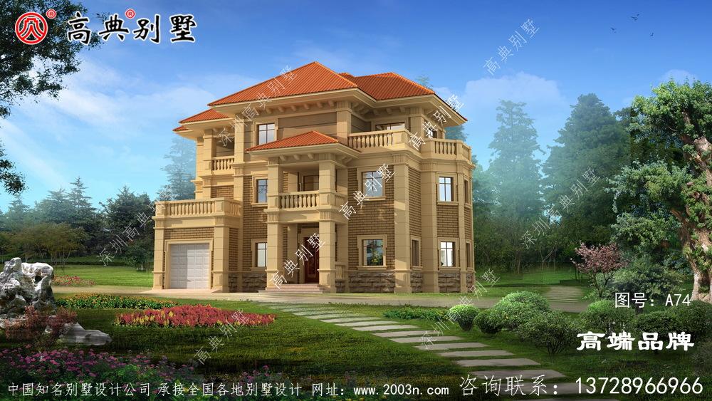 欧式风格别墅设计图沉稳大气