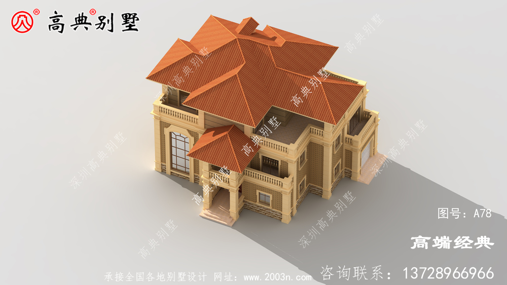 越看越觉得上档次的欧式风格别墅