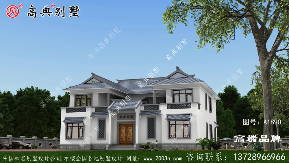 两层别墅这样设计在外观的设计上也给人一种大气的感觉