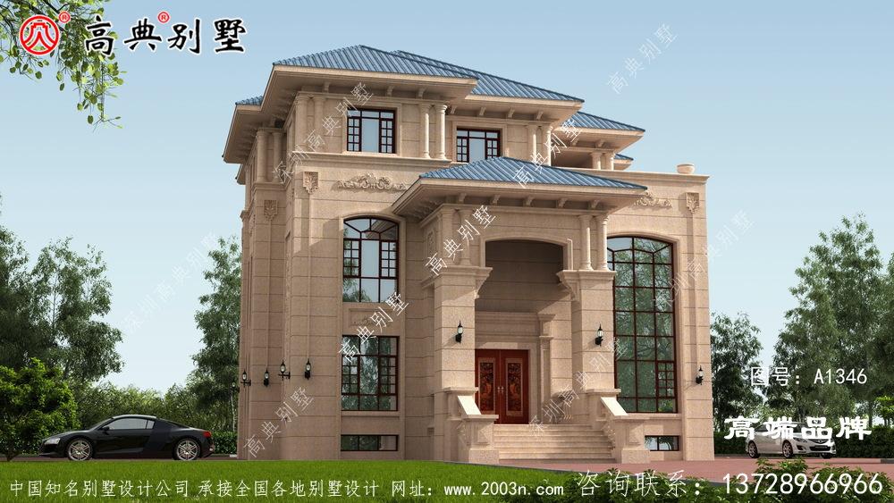 大户型欧式石材别墅使人感觉整体大气舒适