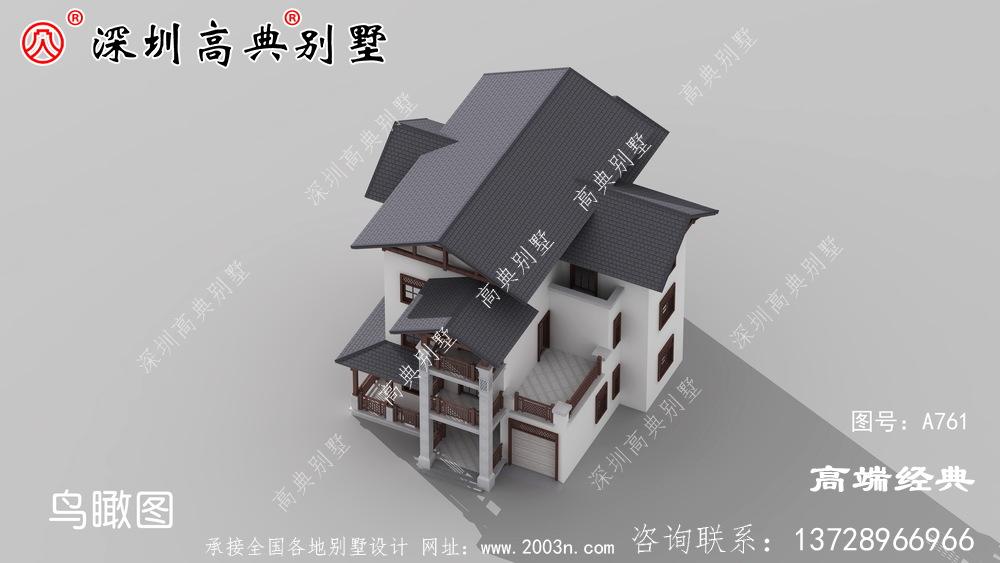 自建房设计图,外观和布局都非常好,老家这样建房子倍儿有面子