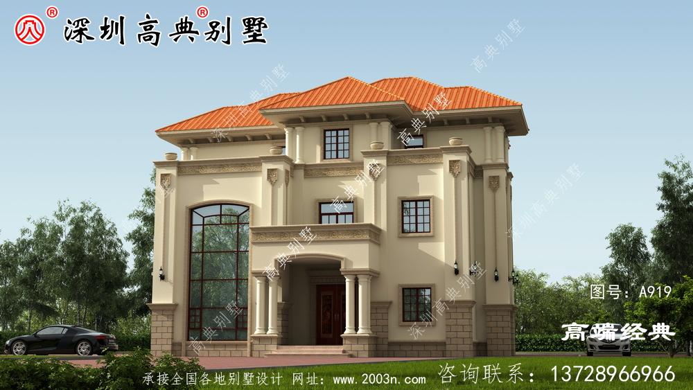 别墅设计图,户型非常实用,宽敞大气
