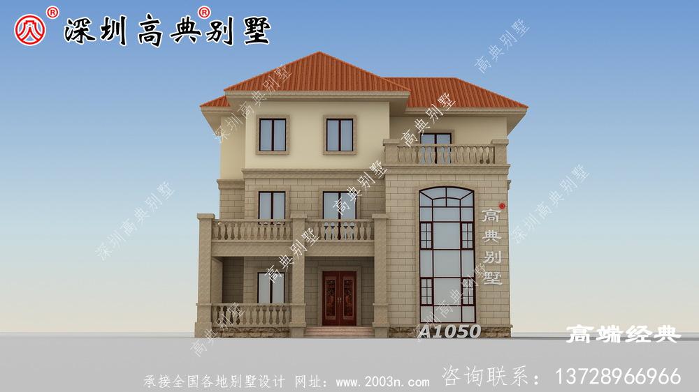 2020年最值得建的三层别墅,挑高客厅,时尚大气