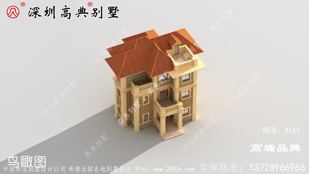 漂亮 乡村 住宅布局 设计图 ,这样 的房子 建造 起来 太美了。