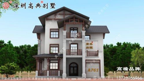 三层别墅 户型设计 ,