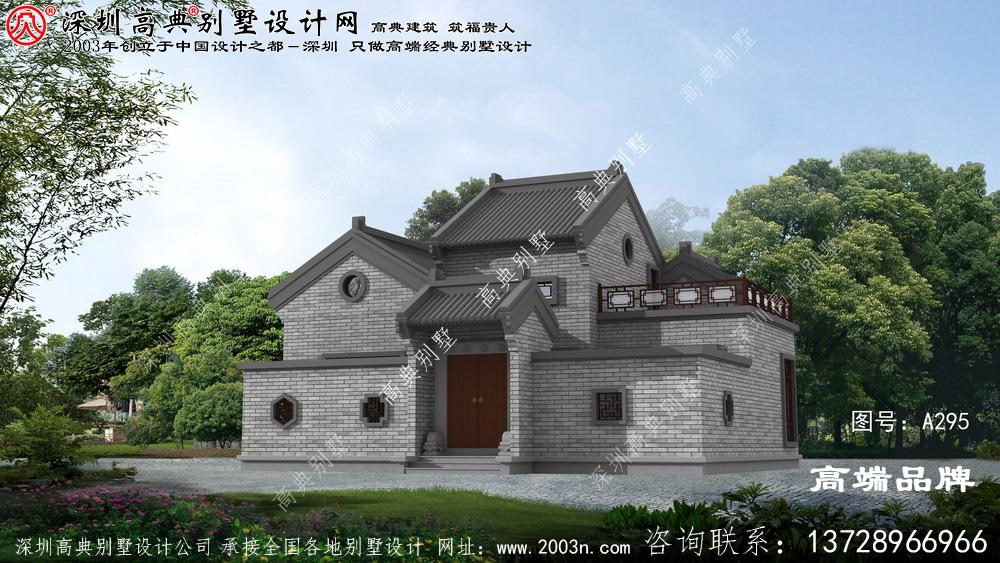 这样的新中式别墅设计图要在农村建起来,肯定倍儿有面!