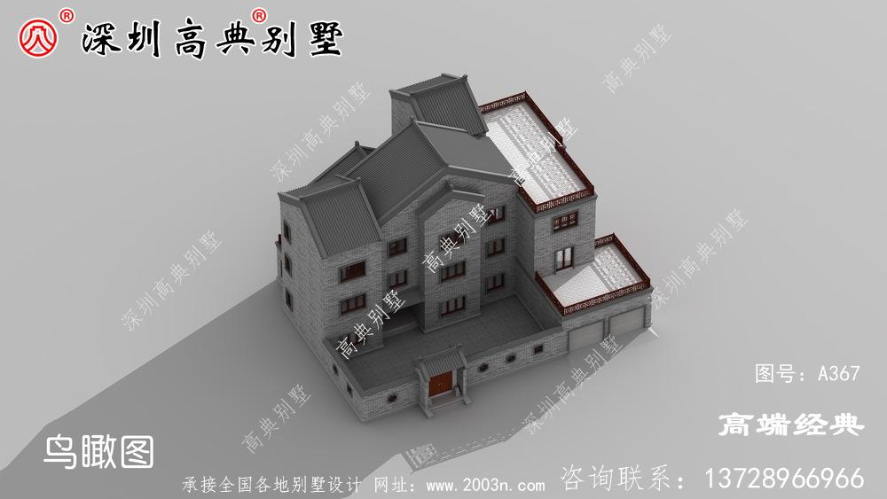 新农村三层房子图片,精致安全