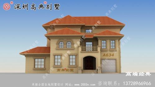 在农村有一个宅基地真的很好,可以建一栋漂亮大气的别墅