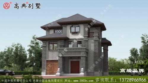 三层中式别墅设计,这