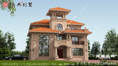 农村自建三层欧式别墅