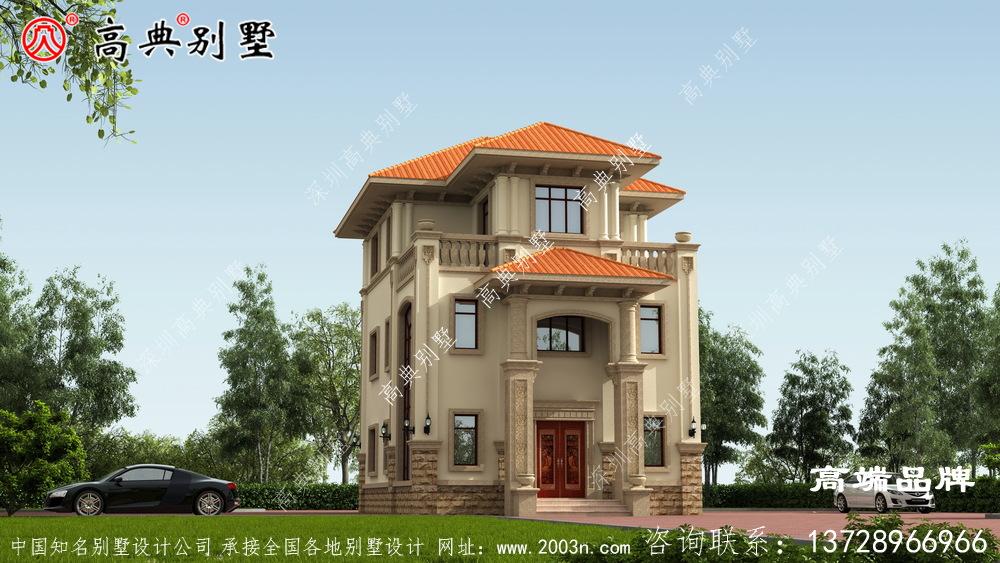 二楼出木栅设计,发挥了良好的装饰作用