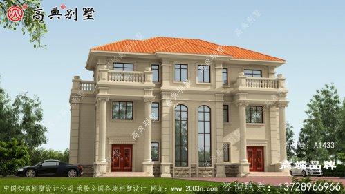 20x12三层欧式风格别墅