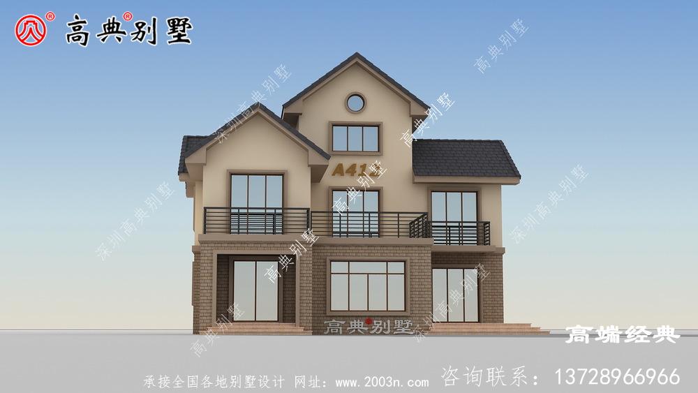 别墅只要设计得当无形中会节省很多成本