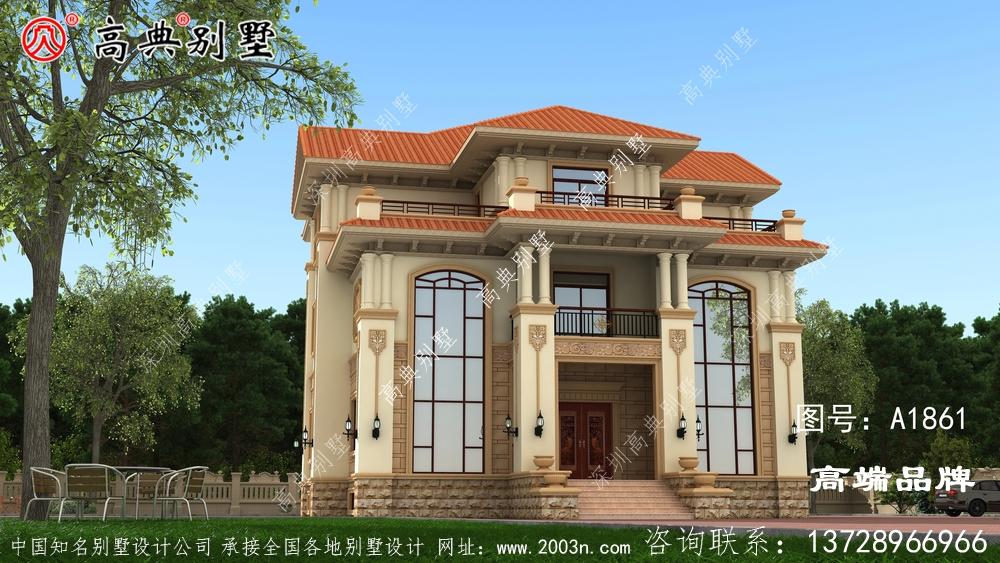 农村三层别墅图片,看到这样的别墅不心动太难了!