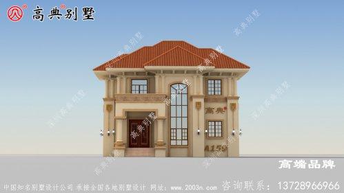 乡下二层欧式别墅设计